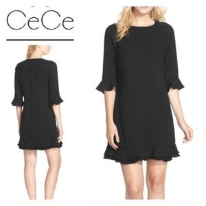 NWT Black CeCe Shift Dress